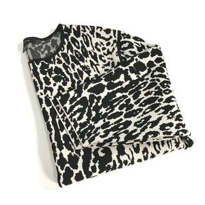 Ann Taylor | Animal Print Sweater